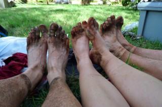 KSR runners feet after one day running