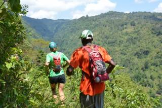 Run through various landscapes