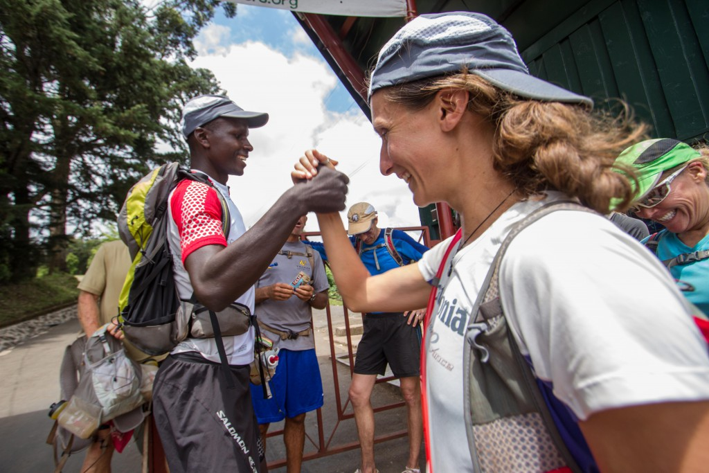 Kili Stage Run 2012 - arrival