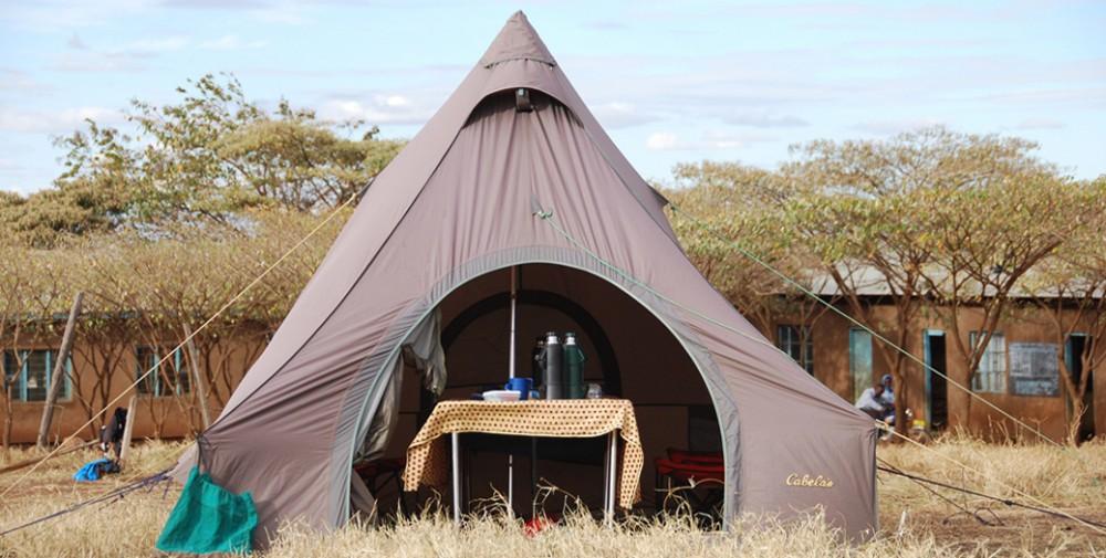 tents used on KSR