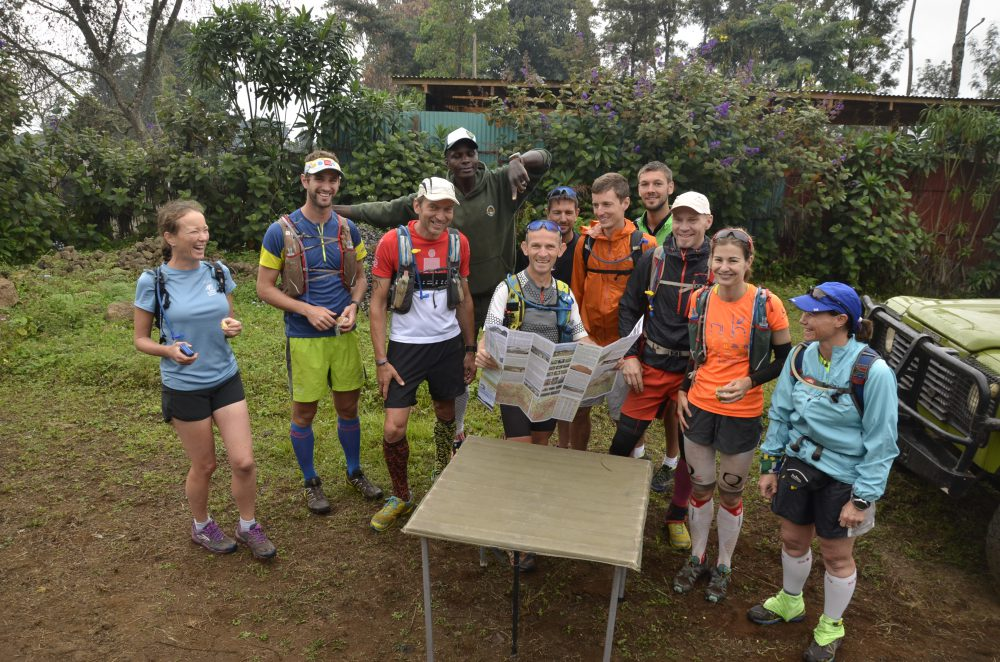 Checking the Kilimanjaro map