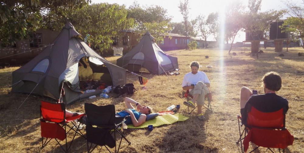 KSR 2015 time for rest at camp