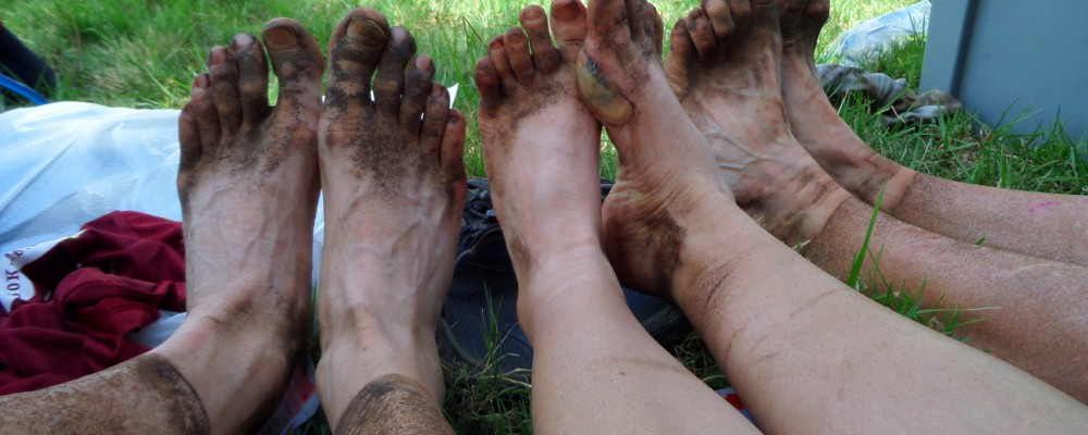 KSR runners feet after one day running