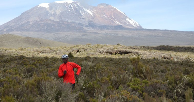 Simon Mtuy and Mount Kili